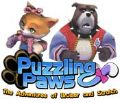 Feature screenshot game Puzzling Paws