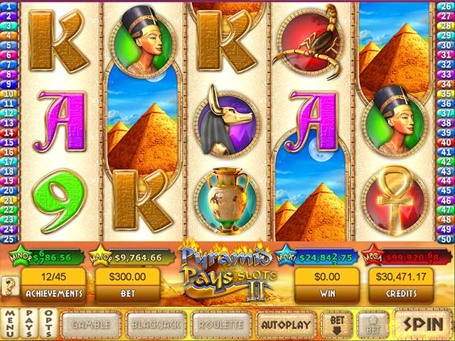 Pyramid Pays Slots II Screenshot-2