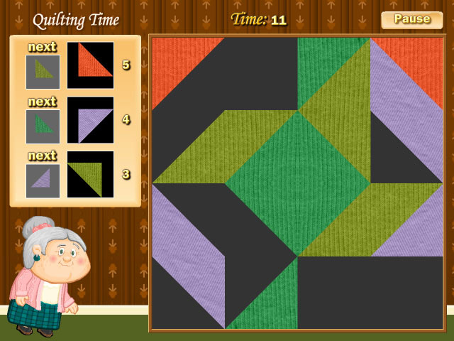 Play quilting time online games big fish for Big fish online free