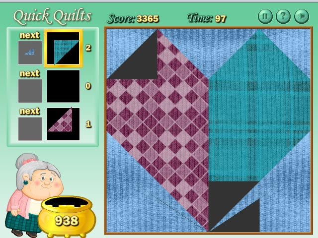 Game screenshot 2 Quilting Time