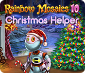 Rainbow Mosaics 10: Christmas Helper