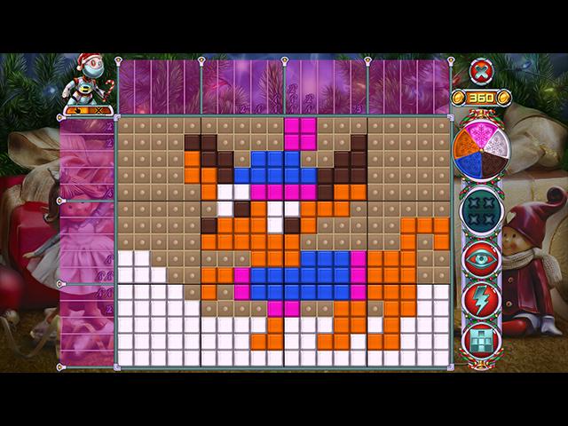 Rainbow Mosaics 10: Christmas Helper img
