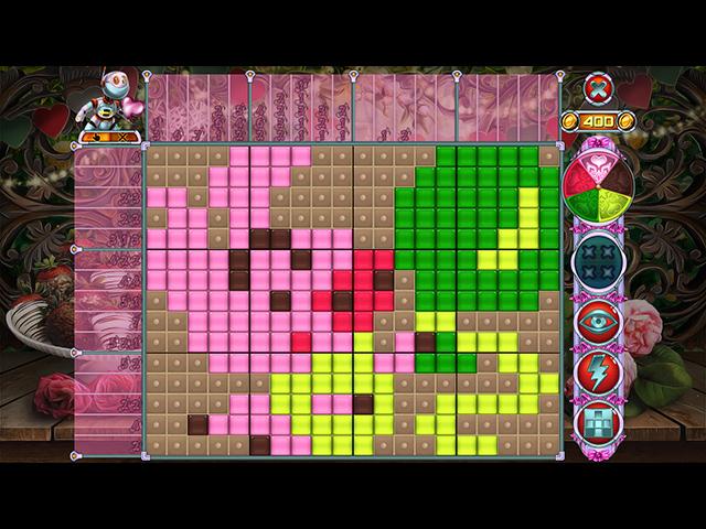 Game screenshot 1 Rainbow Mosaics 11: Helper's Valentine