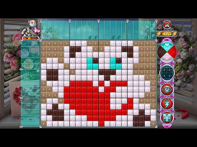 Game screenshot 2 Rainbow Mosaics 11: Helper's Valentine