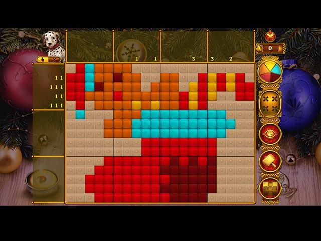 Rainbow Mosaics: Christmas Lights 2 PC game | Puzzle game