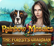 Rainbow Mosaics: The Forest's Guardian