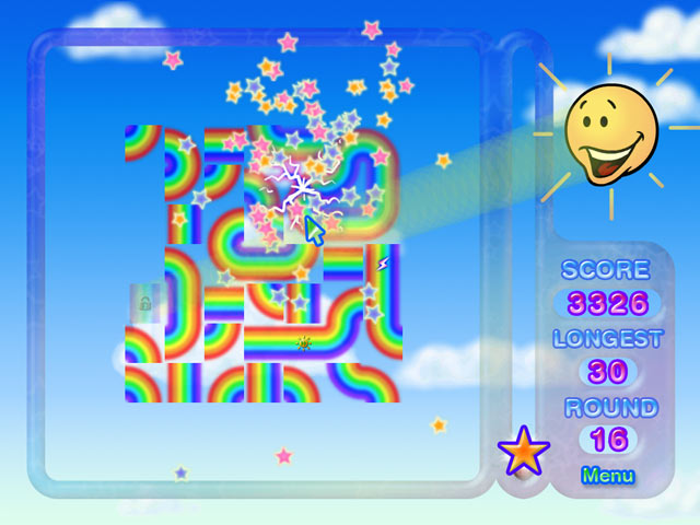Game screenshot 1 Rainbow Ruffle
