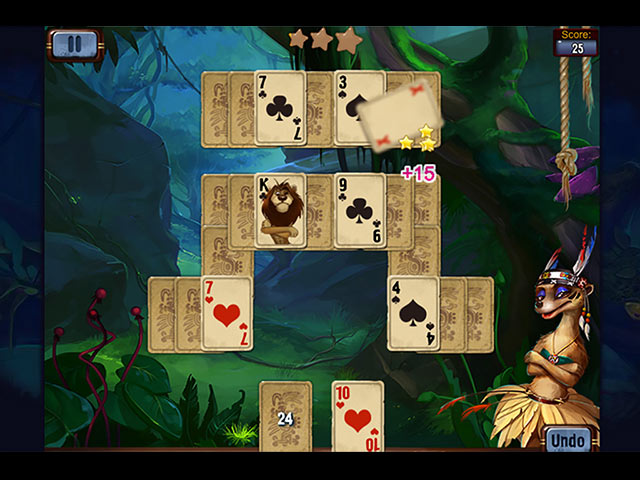 Rainforest Solitaire img