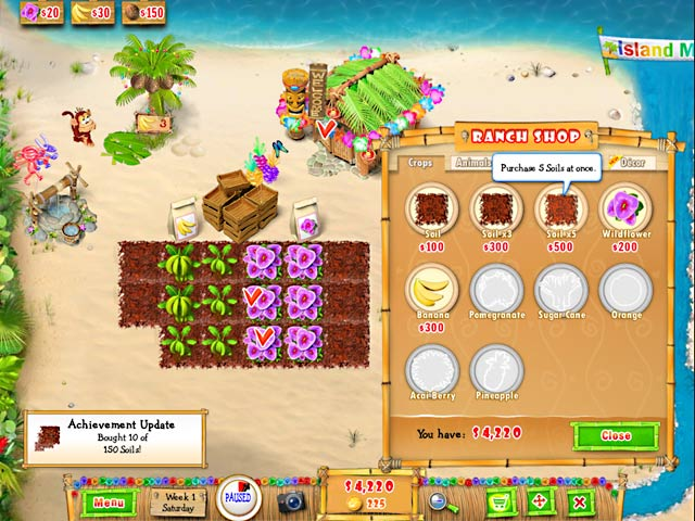Game screenshot 2 Ranch Rush 2 - Sara's Island Experiment