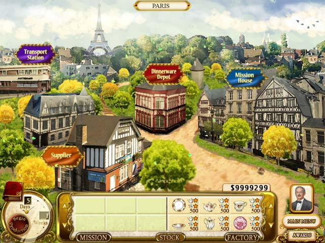 Rare Treasures: Dinnerware Trading Company Screenshot-1