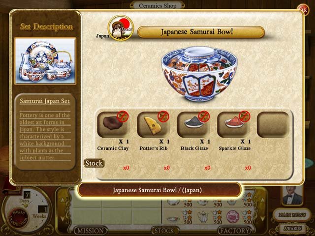 Game screenshot 3 Rare Treasures: Dinnerware Trading Company