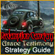 Redemption Cemetery: Grave Testimony Strategy Guide