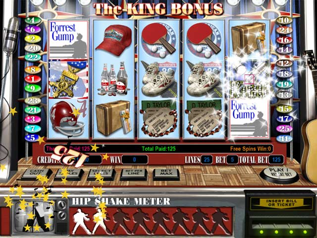 Reel Deal Epic Slot: Forrest Gump Screenshot 3
