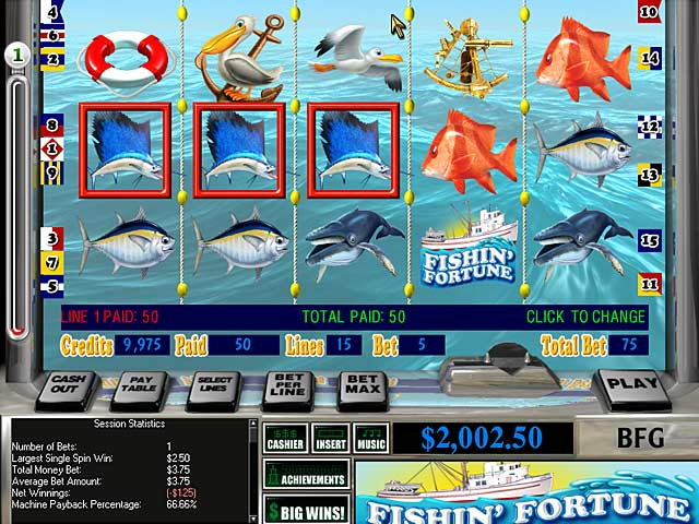 Video for Reel Deal Slots: Fishin' Fortune