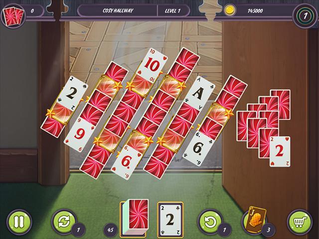 Game screenshot 1 Restaurant Solitaire: Pleasant Dinner