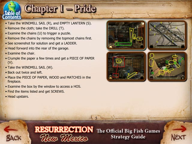 Resurrection new mexico strategy guide ipad iphone for Big fish games new