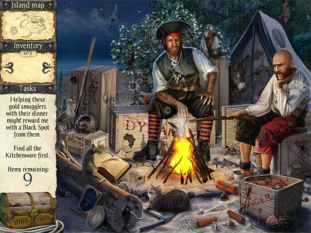 Game screenshot 1 Robinson Crusoe and the Cursed Pirates