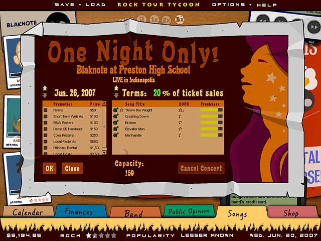 Game screenshot 2 Rock Tour