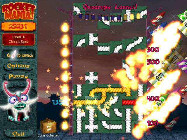 Spiele Screenshot 2 Rocket Mania Deluxe