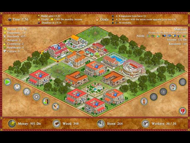 Game screenshot 2 Romopolis