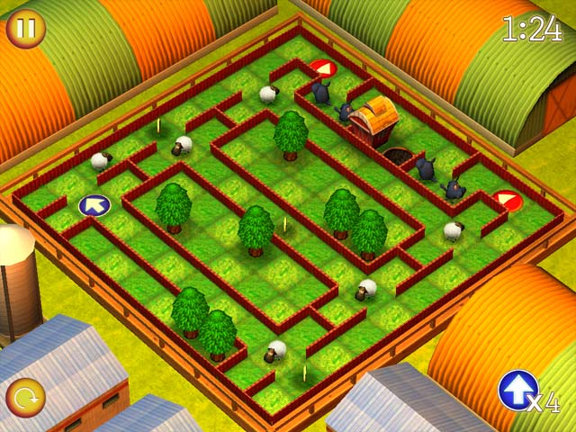 Game screenshot 1 Running Sheep: Tiny Worlds