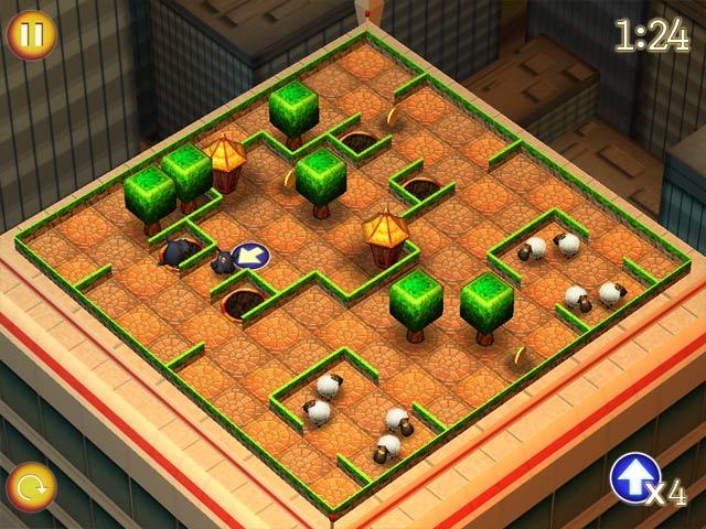 Game screenshot 2 Running Sheep: Tiny Worlds