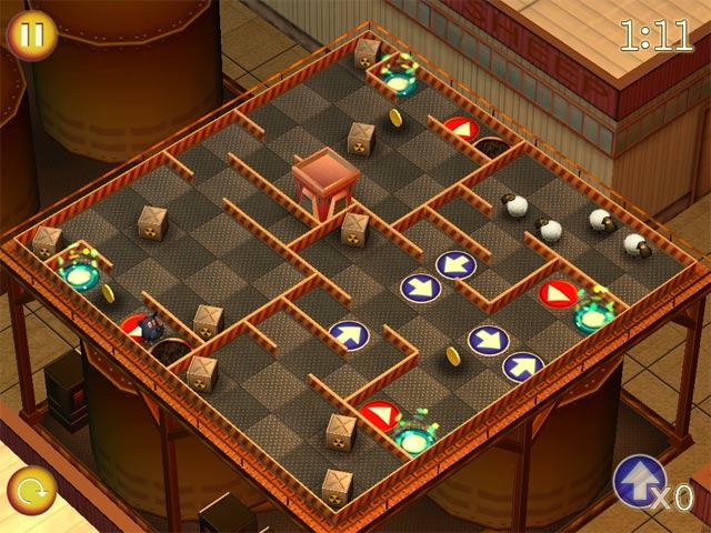 Game screenshot 3 Running Sheep: Tiny Worlds