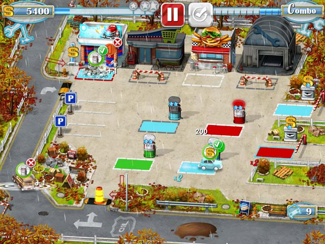 Game screenshot 1 Rush Hour! Gas Station