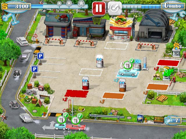 Game screenshot 2 Rush Hour! Gas Station