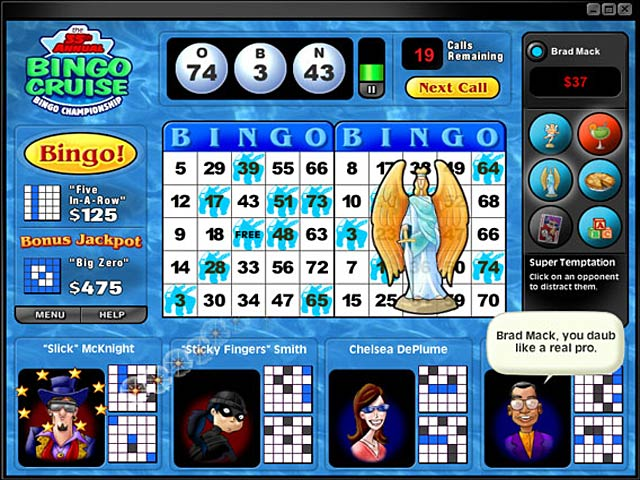 Game screenshot 1 Saints and Sinners Bingo