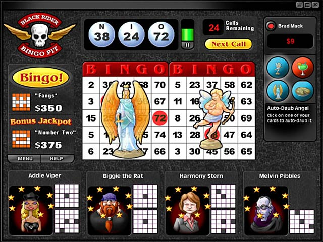 Game screenshot 2 Saints and Sinners Bingo