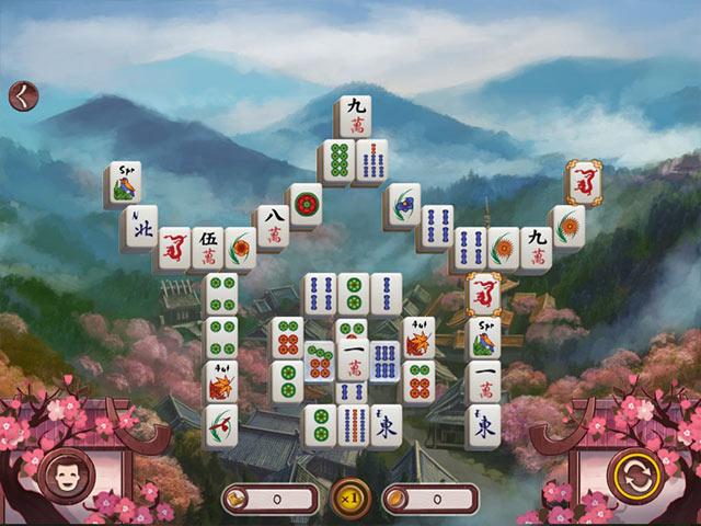 Game screenshot 1 Sakura Day 2 Mahjong