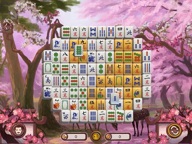 Game screenshot 2 Sakura Day 2 Mahjong