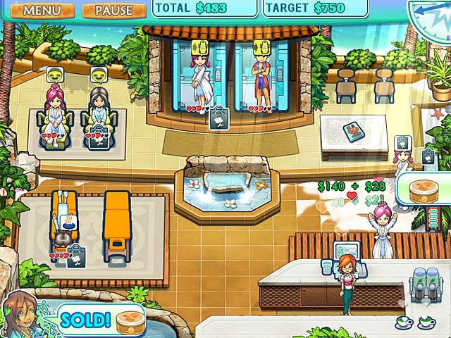 Game screenshot 1 Sally's Spa