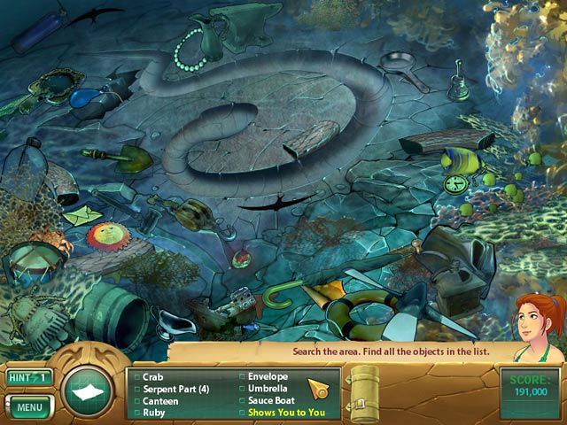 Game screenshot 3 Samantha Swift: Mystery From Atlantis