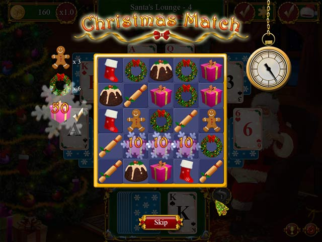 Christmas Solitaire.Santa S Christmas Solitaire Pc Game Hidden Object Card