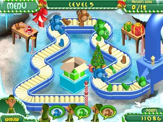 Game screenshot 1 Santa's Super Friends