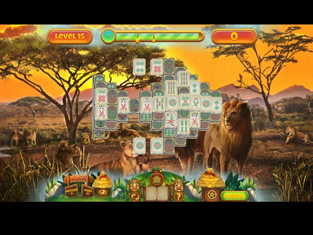 Save the Nature: Mahjong img