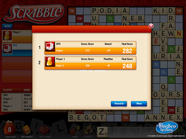 Game screenshot 2 Scrabble