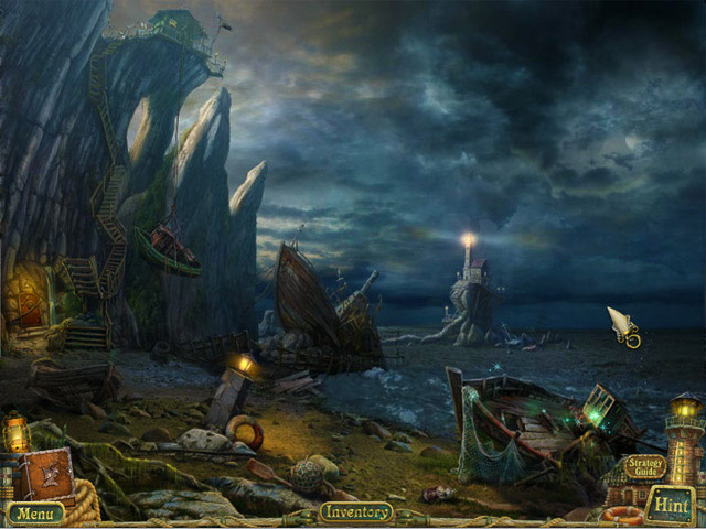 Sea Legends: Phantasmal Light Collector's Edition Screen 3