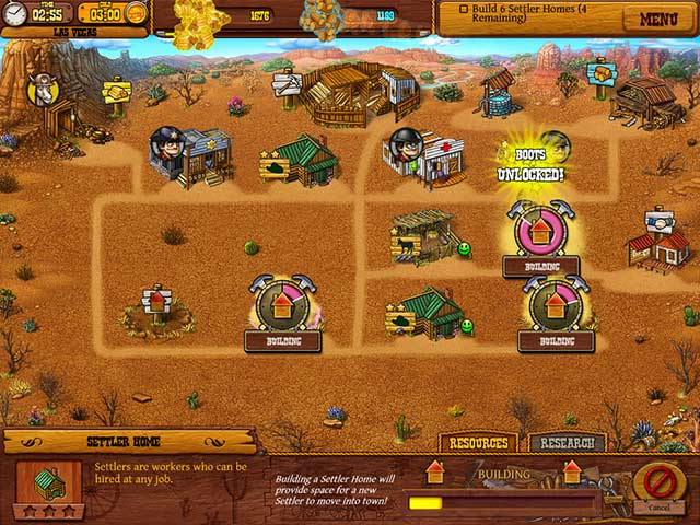 Game screenshot 2 Settlers of the West