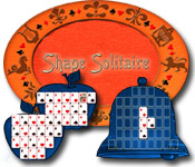 Feature- Screenshot Spiel Shape Solitaire