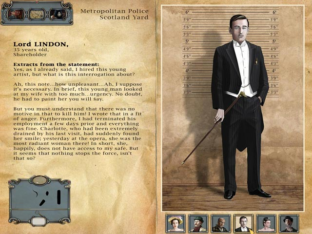 Game screenshot 3 Sherlock Holmes: The Mystery of the Persian Carpet