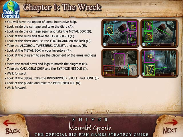 Game screenshot 1 Shiver: Moonlit Grove Strategy Guide