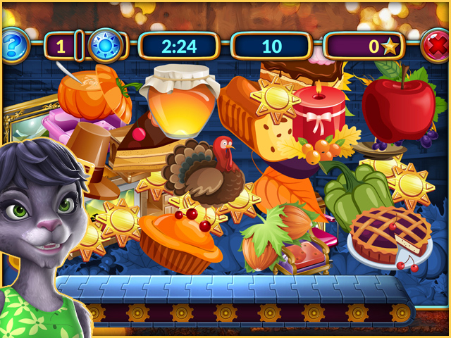 Game screenshot 1 Shopping Clutter 4: A Perfect Thanksgiving