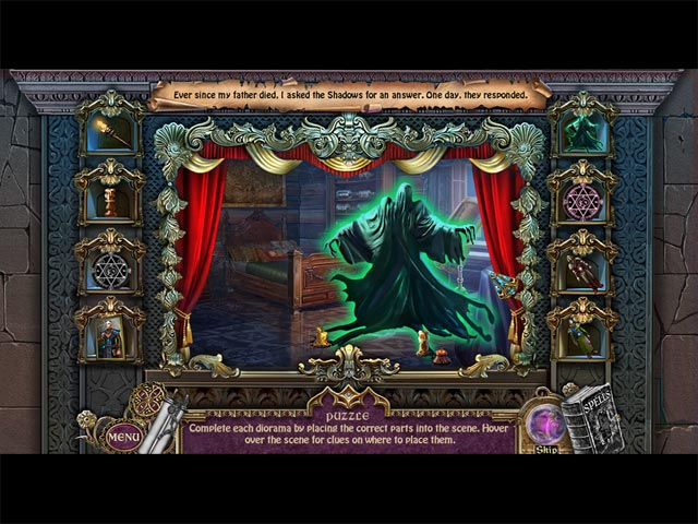 Game screenshot 3 Shrouded Tales: The Spellbound Land Collector's Edition