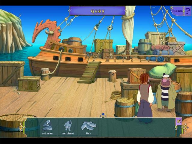 Game screenshot 1 Sinbad: In search of Magic Ginger