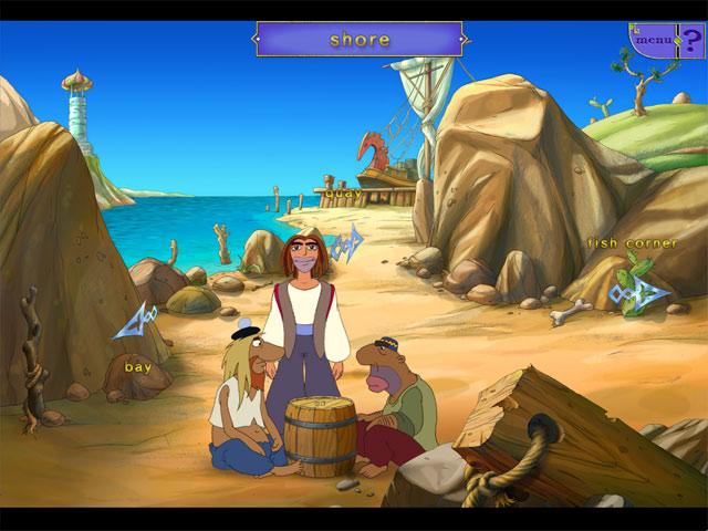 Game screenshot 2 Sinbad: In search of Magic Ginger