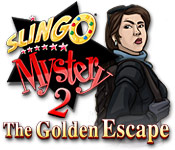 Feature screenshot game Slingo Mystery 2: The Golden Escape
