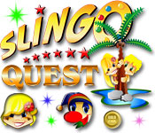 Feature screenshot game Slingo Quest